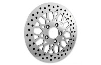 "Biker's Choice 11.5"" Rear Mesh Style Polished Rotor - M-RT-2162- SALE"