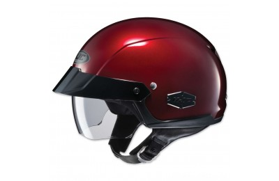 HJC IS-Cruiser Metallic Wine Half Helmet - 0824-0111-06- SALE
