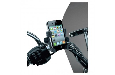 Kuryakyn Tech-Connect Complete Cell Phone or Device Handlebar Mount Kit - 1699- SALE