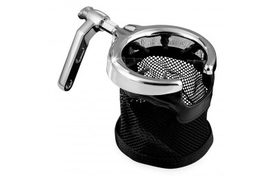 Kuryakyn Chrome Drink Holder with Basket - 1462- SALE