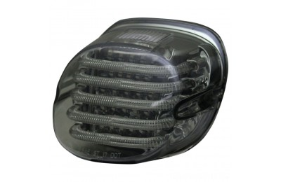 Custom Dynamics ProBEAM Low Profile LED Taillight w/ Window, Smoke - PB-TL-LPW-S- SALE
