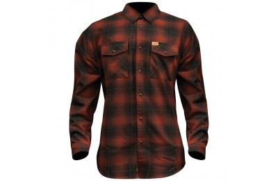 Dixxon J&P Cycles Men's The Brickhouse Flannel - JPRED-MENS-LG- SALE