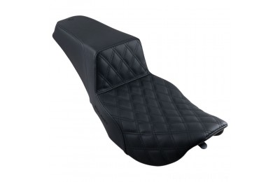 Saddlemen Step-Up LS Front Lattice Stitch 2-up Seat - 897-06-172- SALE