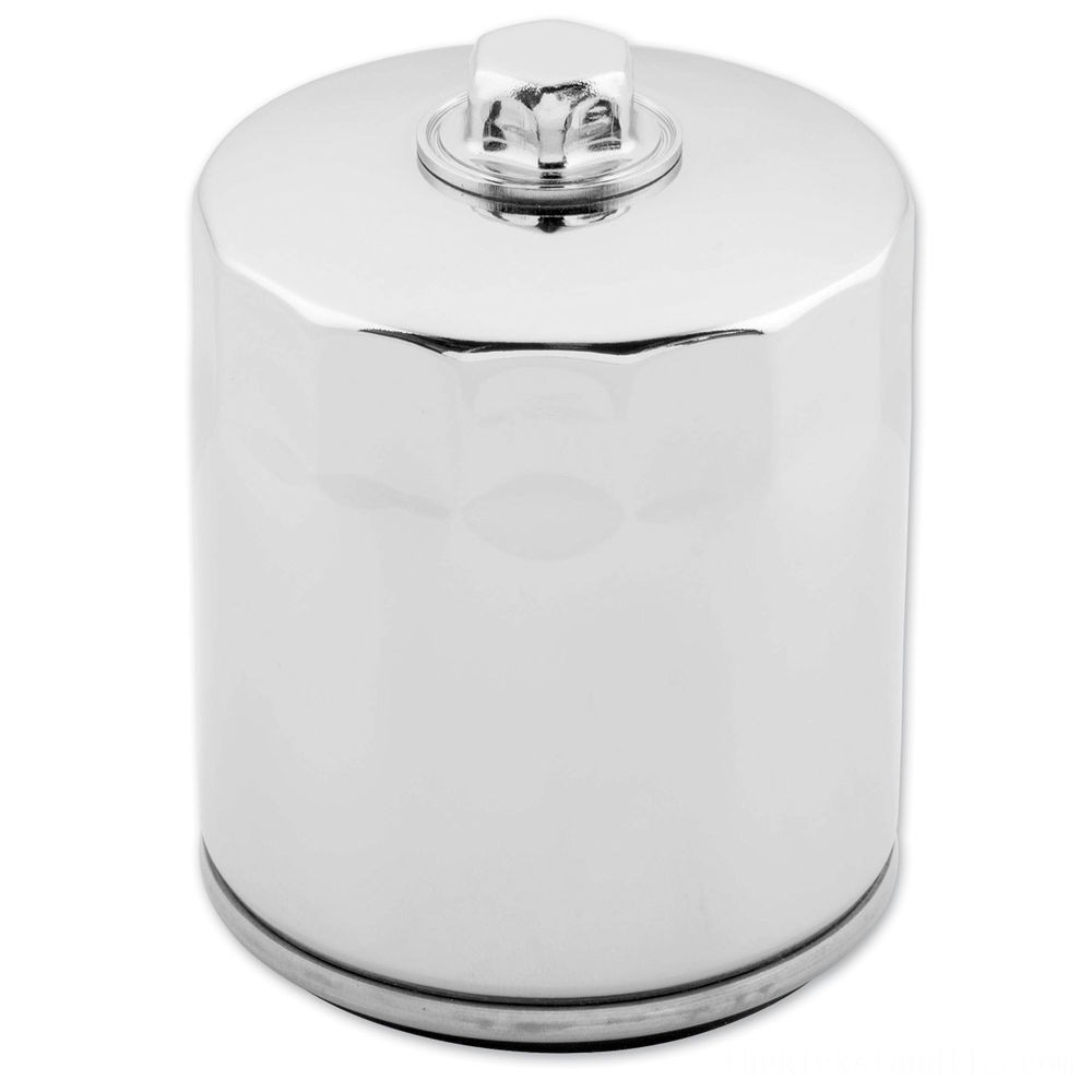 Black Friday Twin Power Chrome Oil Filter with Nut - JO-M149C ( Sale )