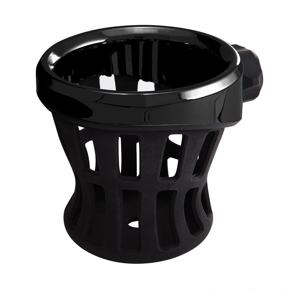 Ciro Black Drink Holder With Perch Mount - 50611- SALE